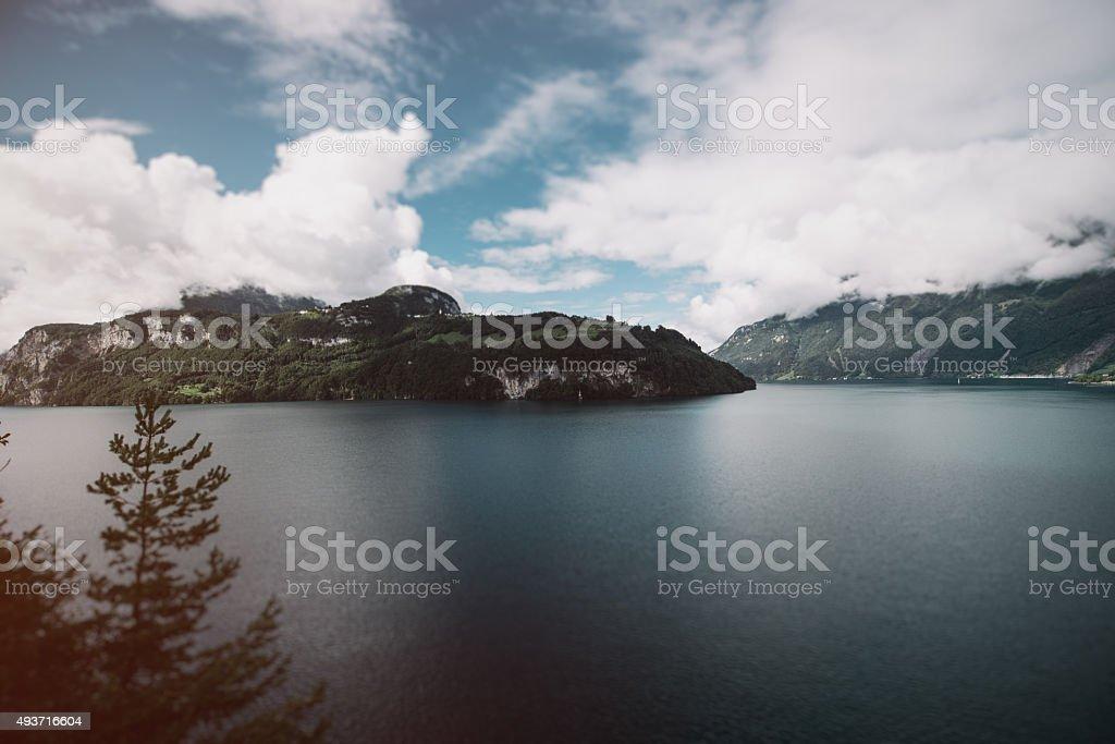 Swiss Alps, Canton Uri stock photo
