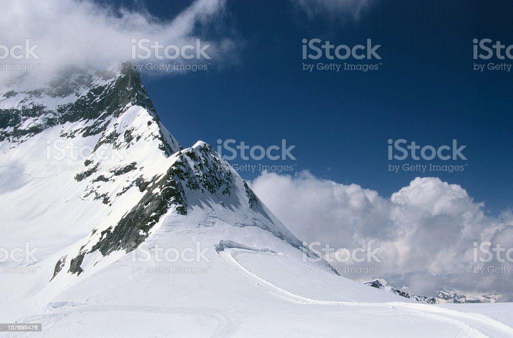 Swiss Alps Jungfraujoch royalty-free stock photo