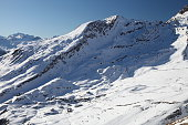 Swiss Alps mountains in winter