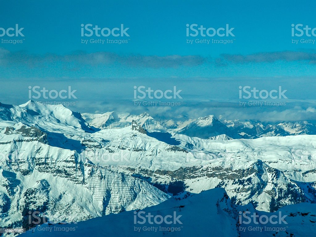 Swiss Apls, Grindewald, Switzerland stock photo