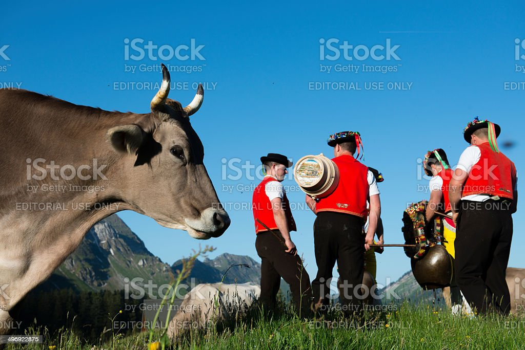 Swiss Appenzell stock photo