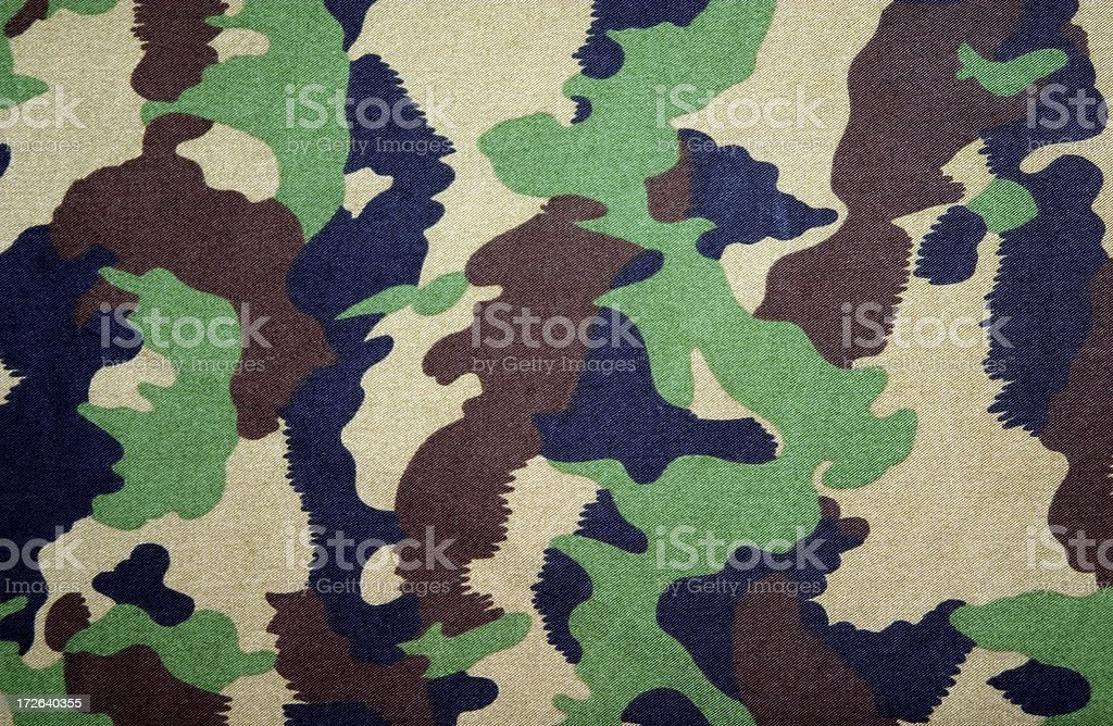 Swiss army camouflage royalty-free stock photo