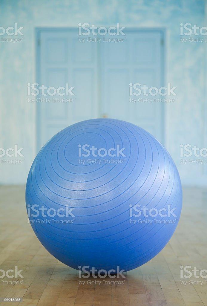 Swiss ball closeup stock photo