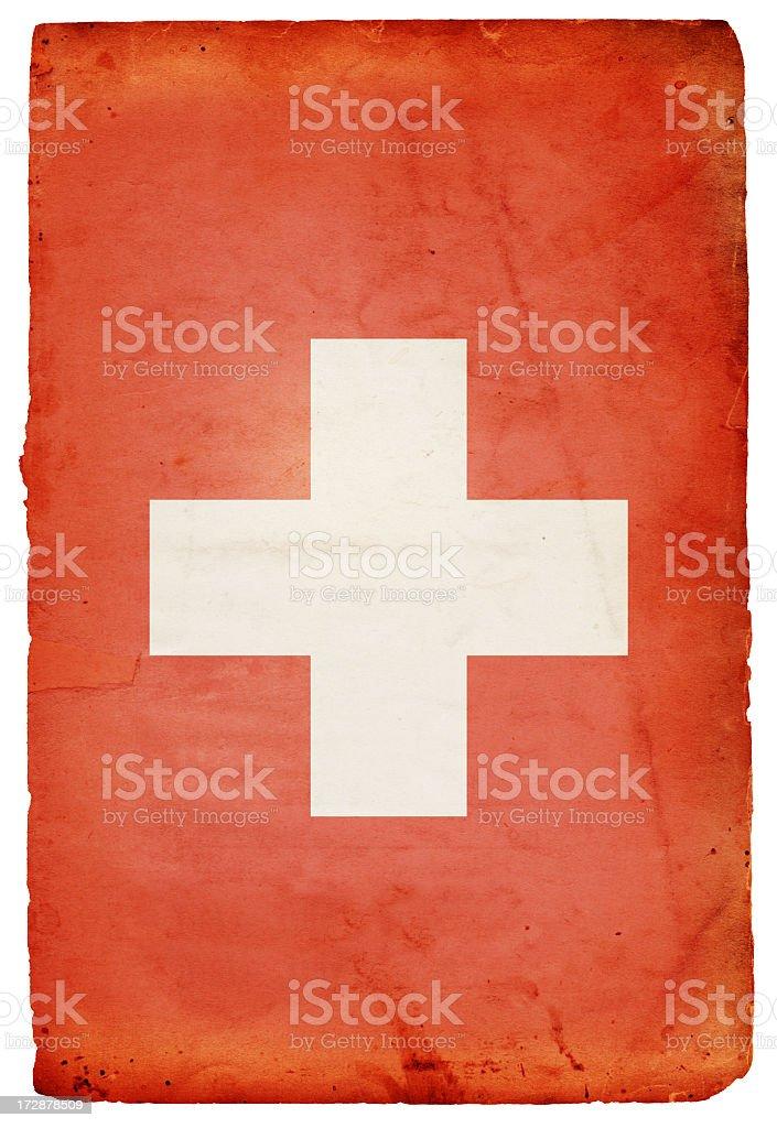 Swiss Flag XXXL royalty-free stock photo