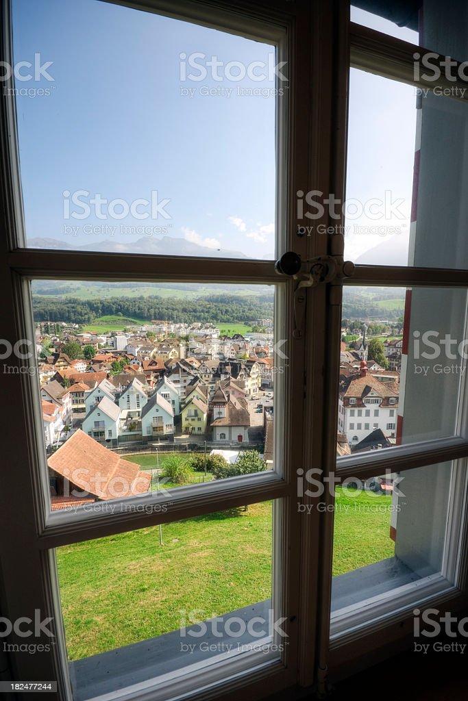 Swiss Home stock photo