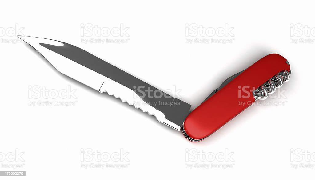 Swiss Knife (for show-offs) stock photo