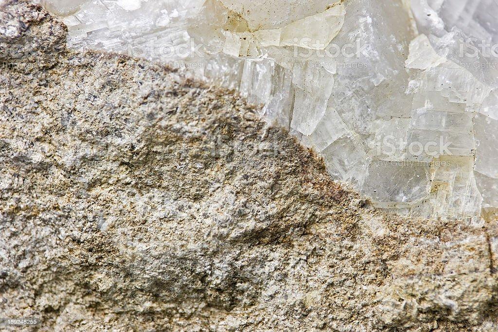 Swiss mountain crystal royalty-free stock photo