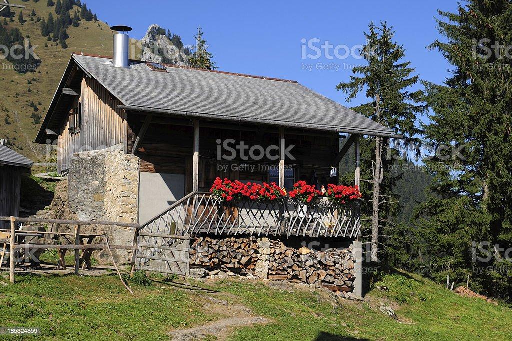 Swiss Mountain House swiss mountain house xlarge stock photo 185324859 | istock