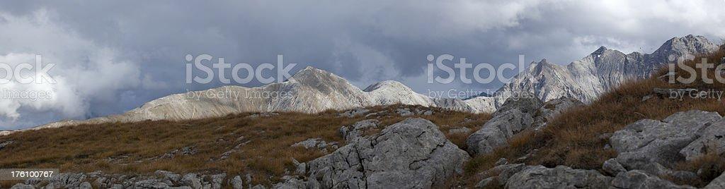 Swiss Mountain Peeks royalty-free stock photo