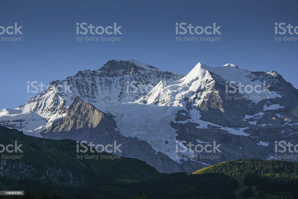 Swiss mountain royalty-free stock photo