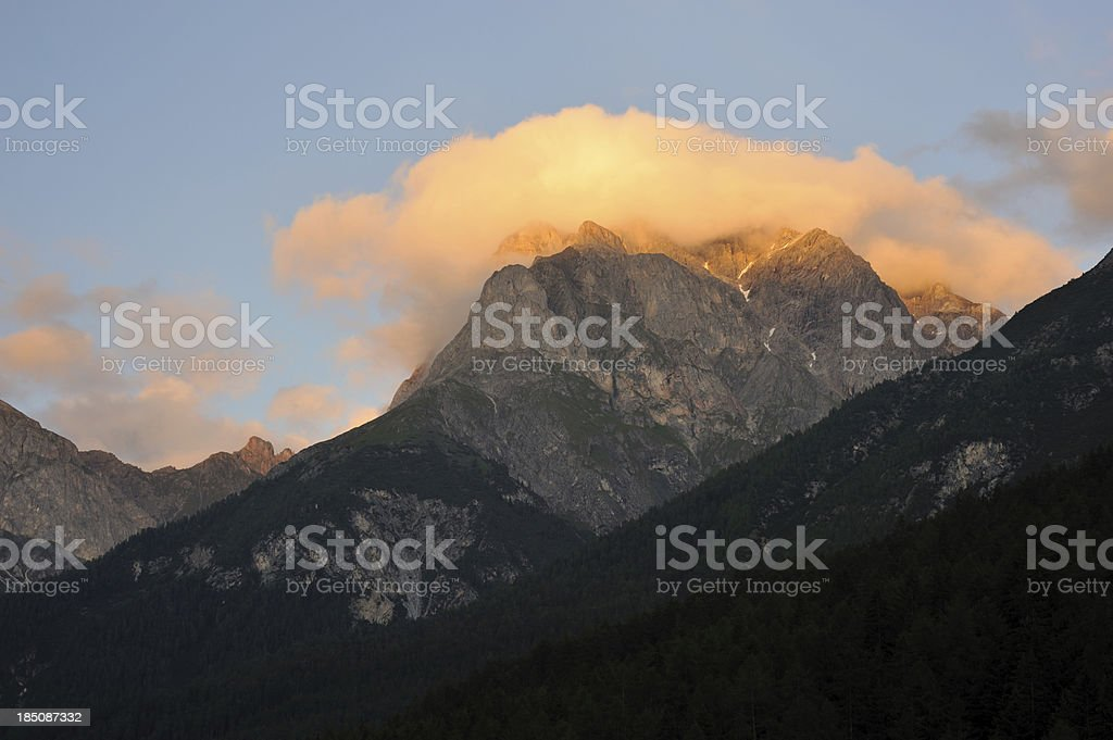 Swiss Mountains royalty-free stock photo