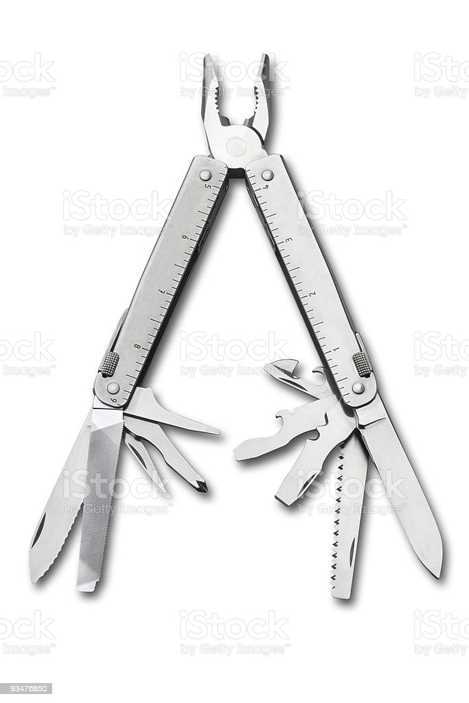Swiss multi-tool royalty-free stock photo