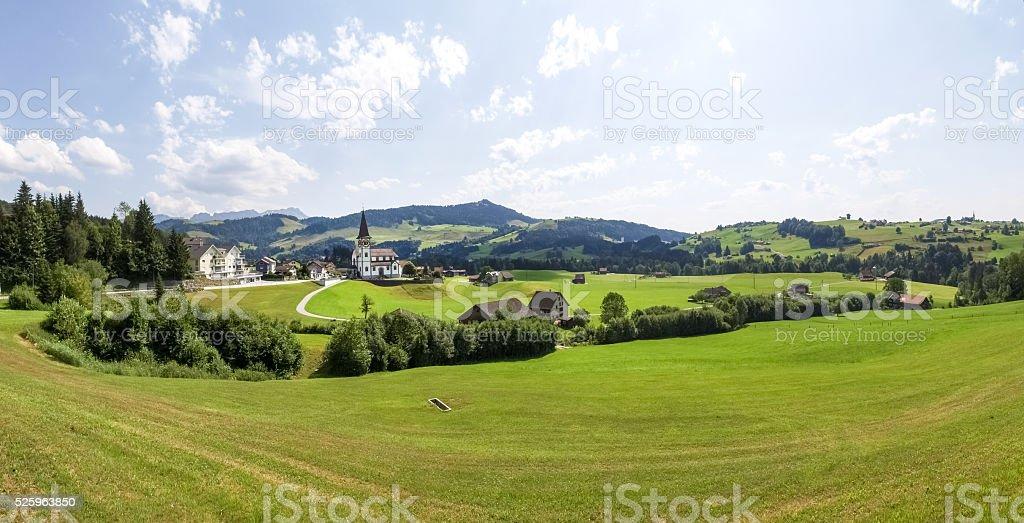 Swiss Panorama stock photo