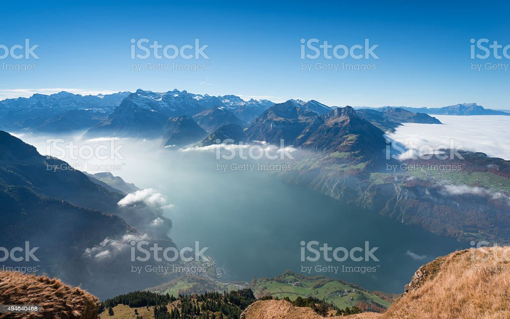 Swiss. stock photo