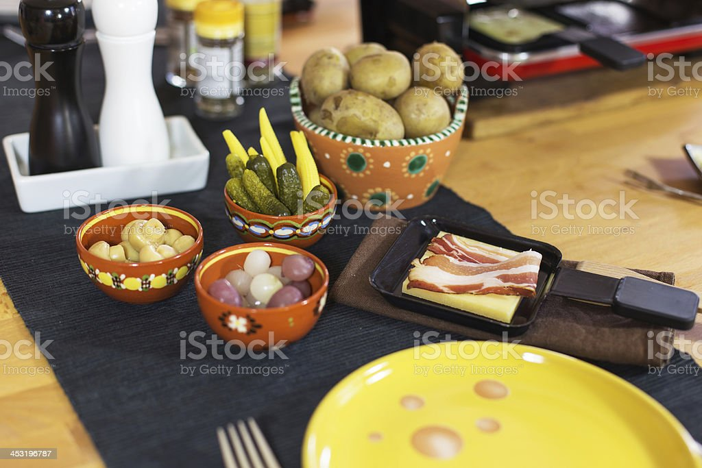 Swiss raclette royalty-free stock photo
