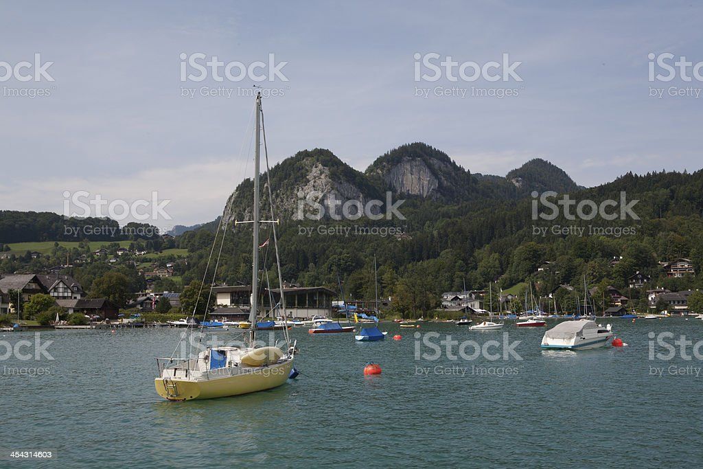 Swiss Riviera royalty-free stock photo