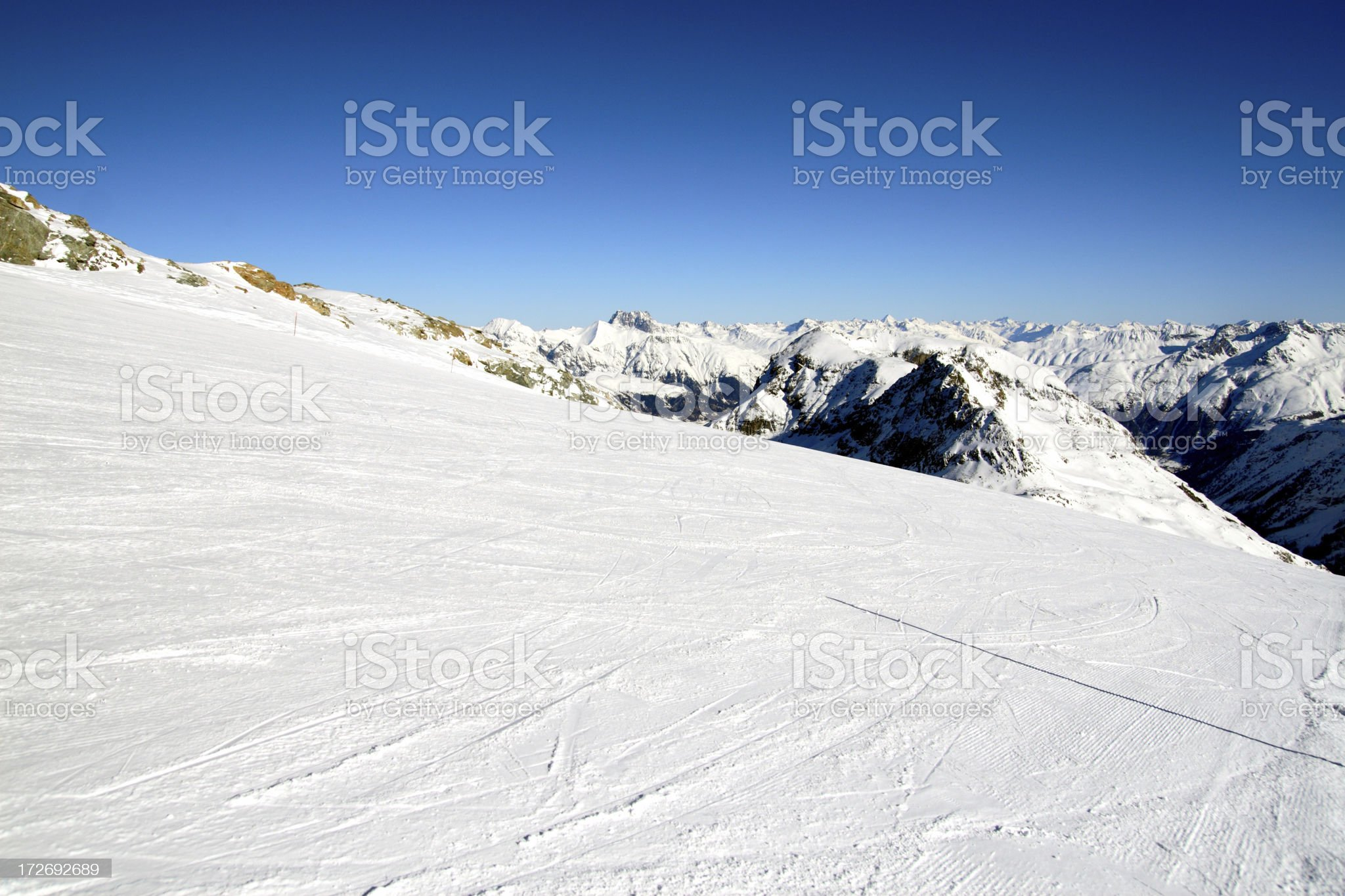 Swiss Slope royalty-free stock photo