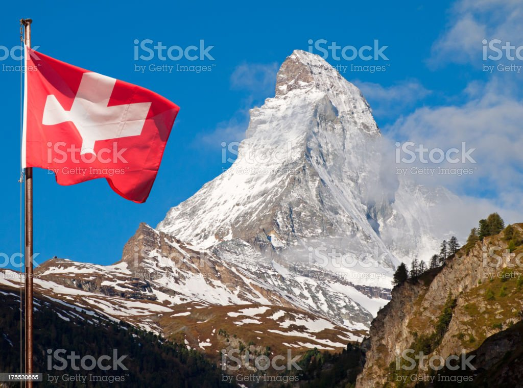 Swiss Symbols stock photo
