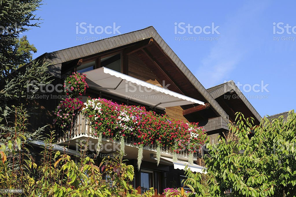 Swiss Traditional House - XLarge royalty-free stock photo