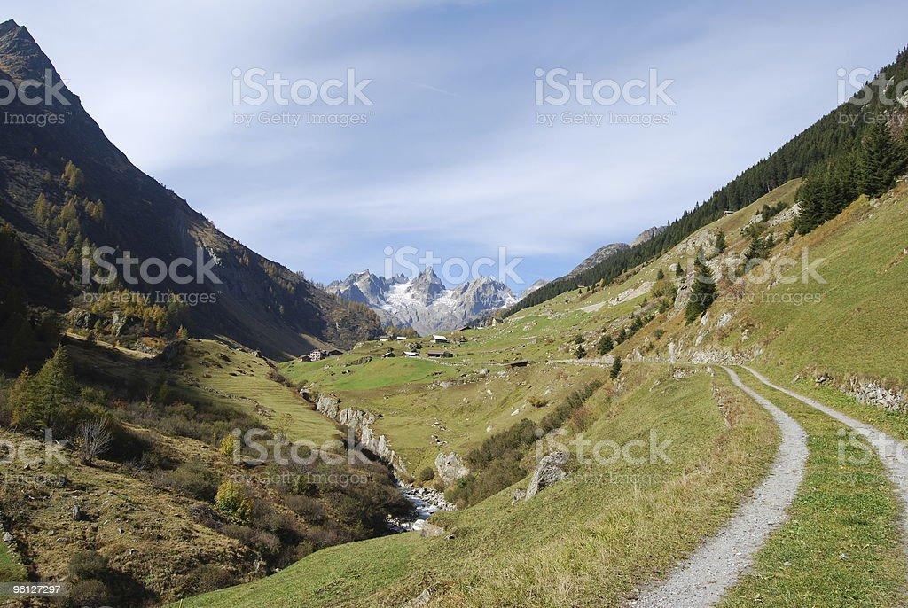 Swiss Vally royalty-free stock photo