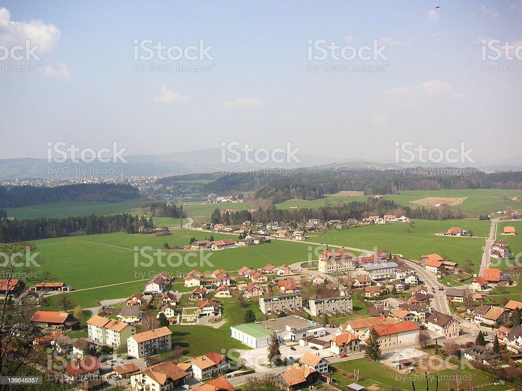スイス村 ロイヤリティフリーストックフォト