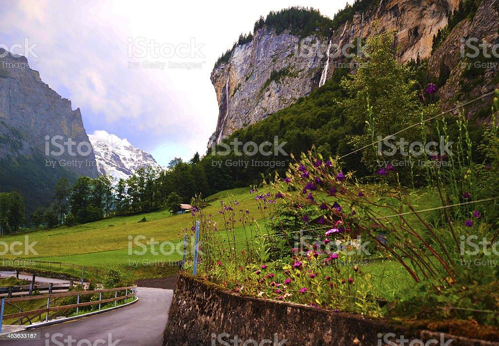 Swiss Vista royalty-free stock photo