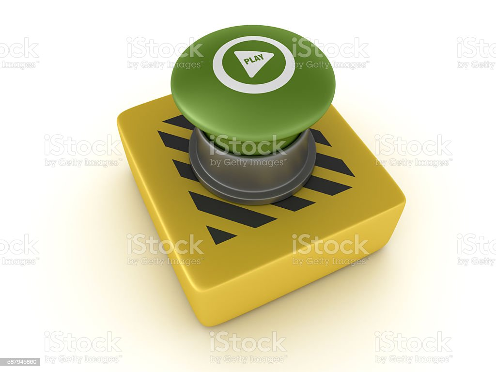 Switch Buttons Series - GO! stock photo