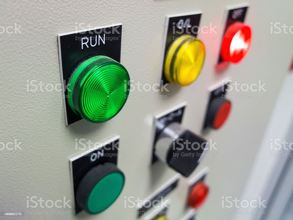 Switch Control stock photo