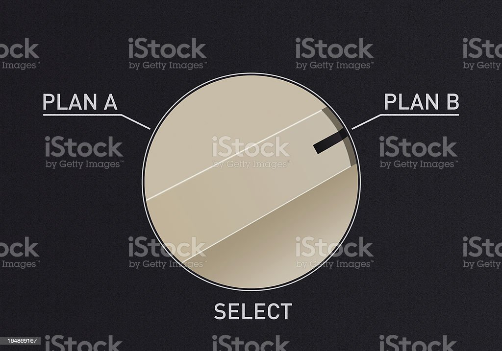 Switch Dial royalty-free stock photo