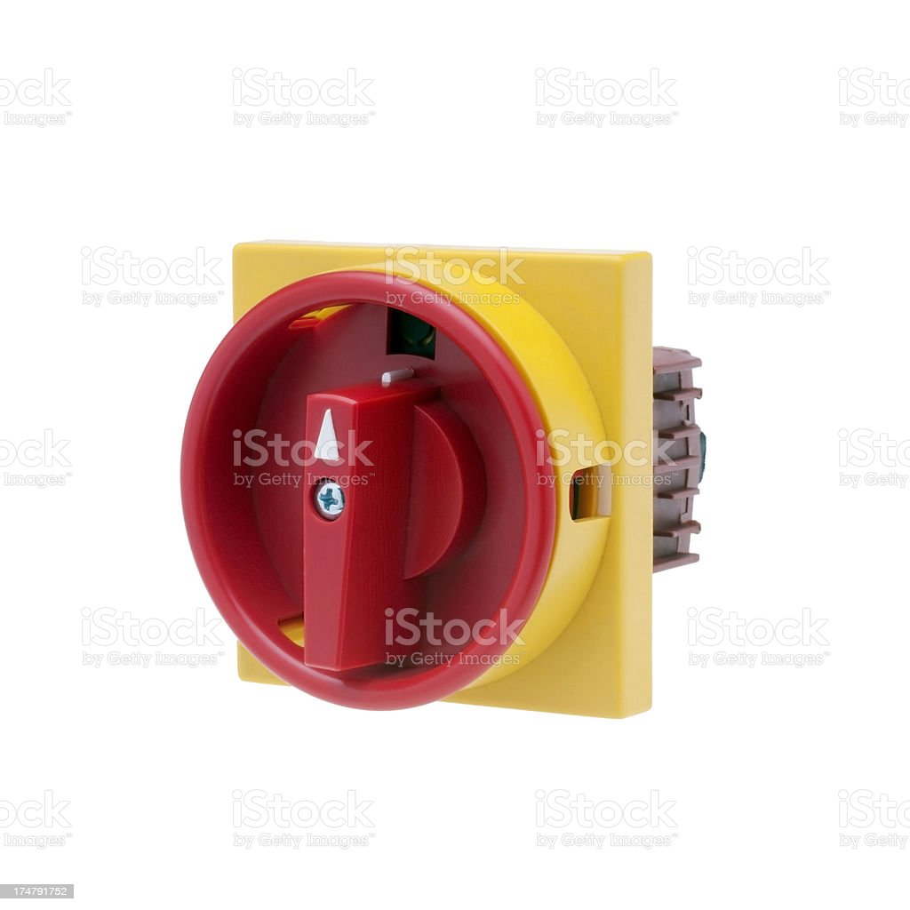 Switch Electric Industrial stock photo