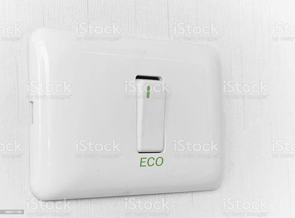 Switch off royalty-free stock photo