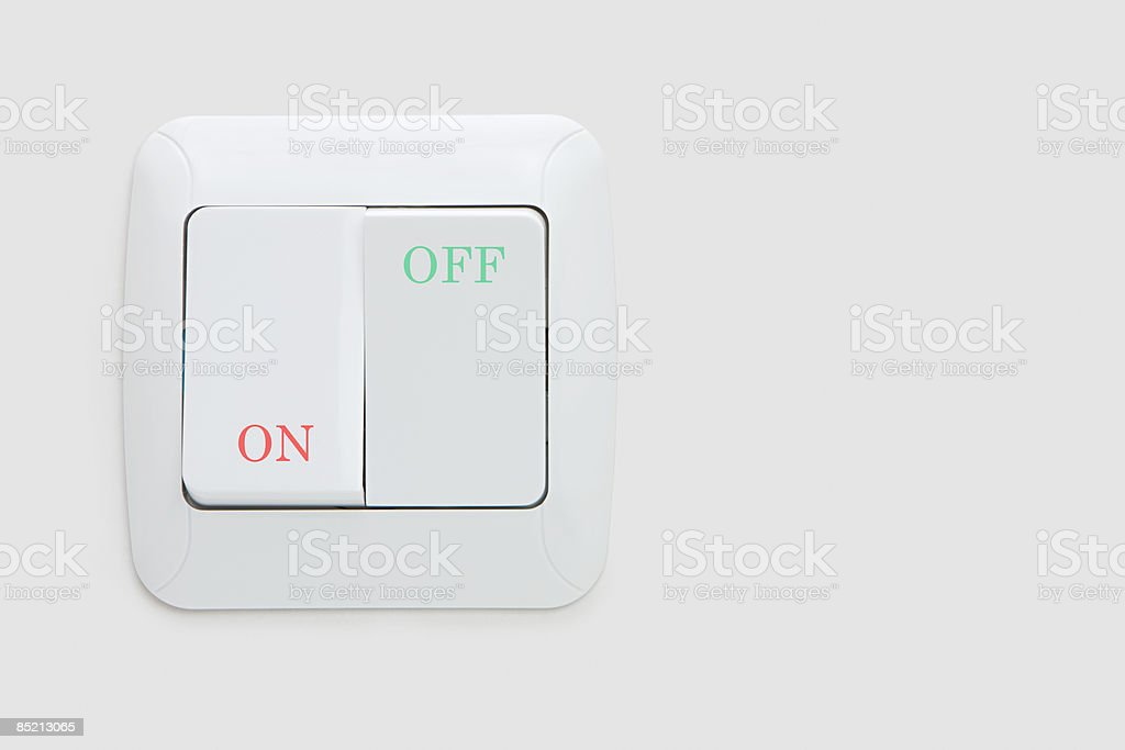 A switch stock photo
