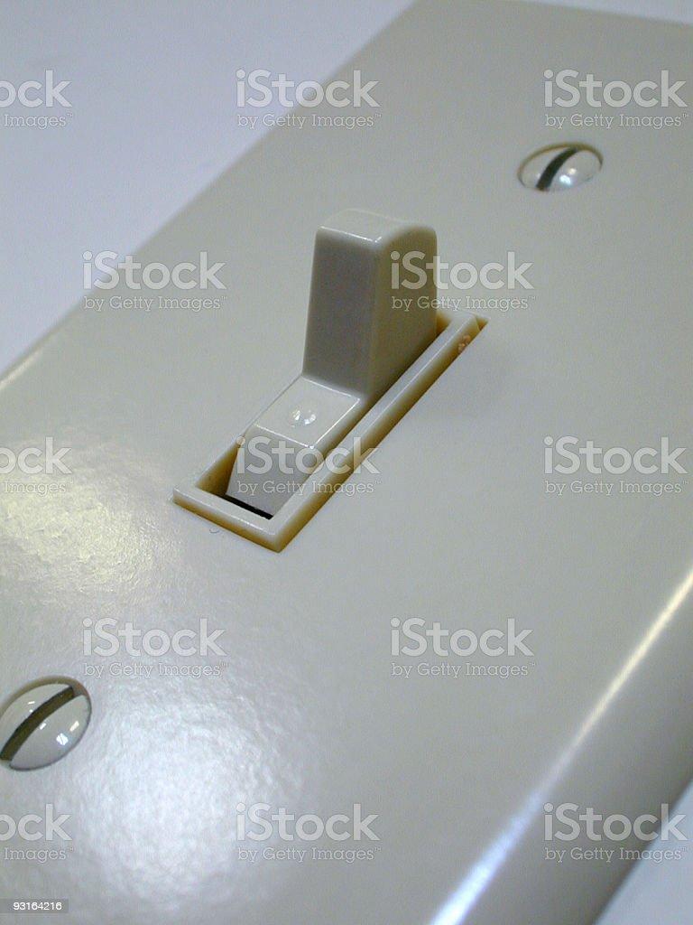 Switch - Up stock photo