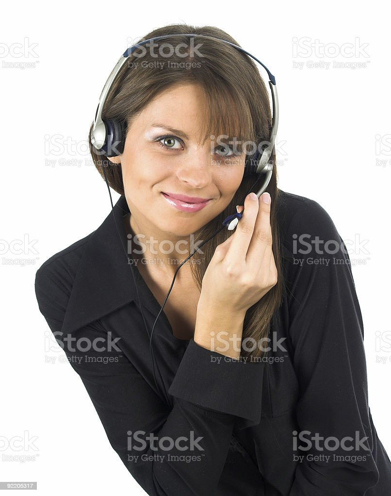 Switchboard Operator royalty-free stock photo