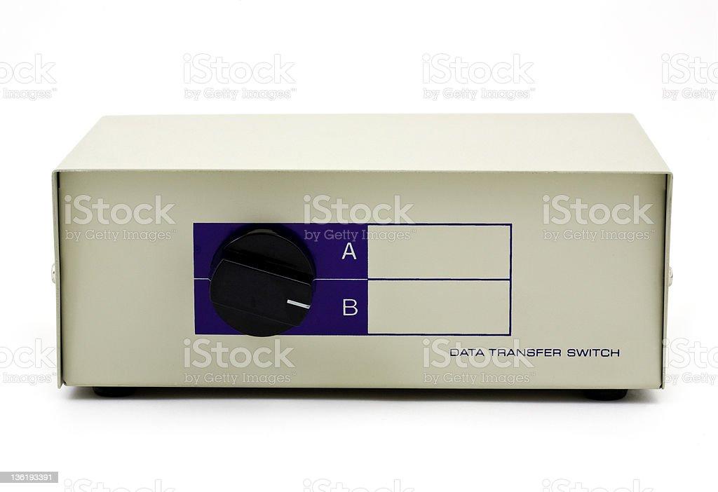 Switchbox stock photo