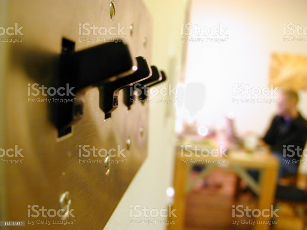 Switches Of Eastwick royalty-free stock photo