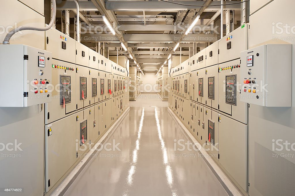 Switchgear stock photo