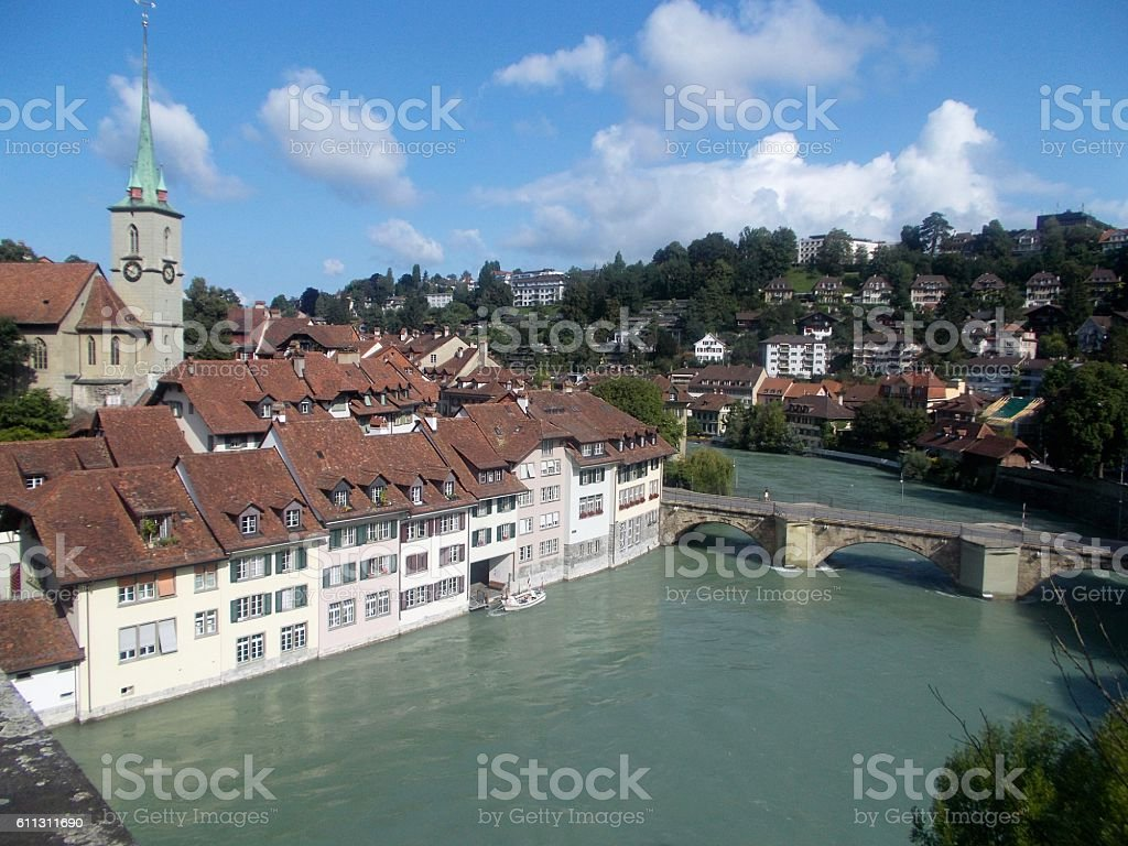 switzerland - bern, landscape stock photo
