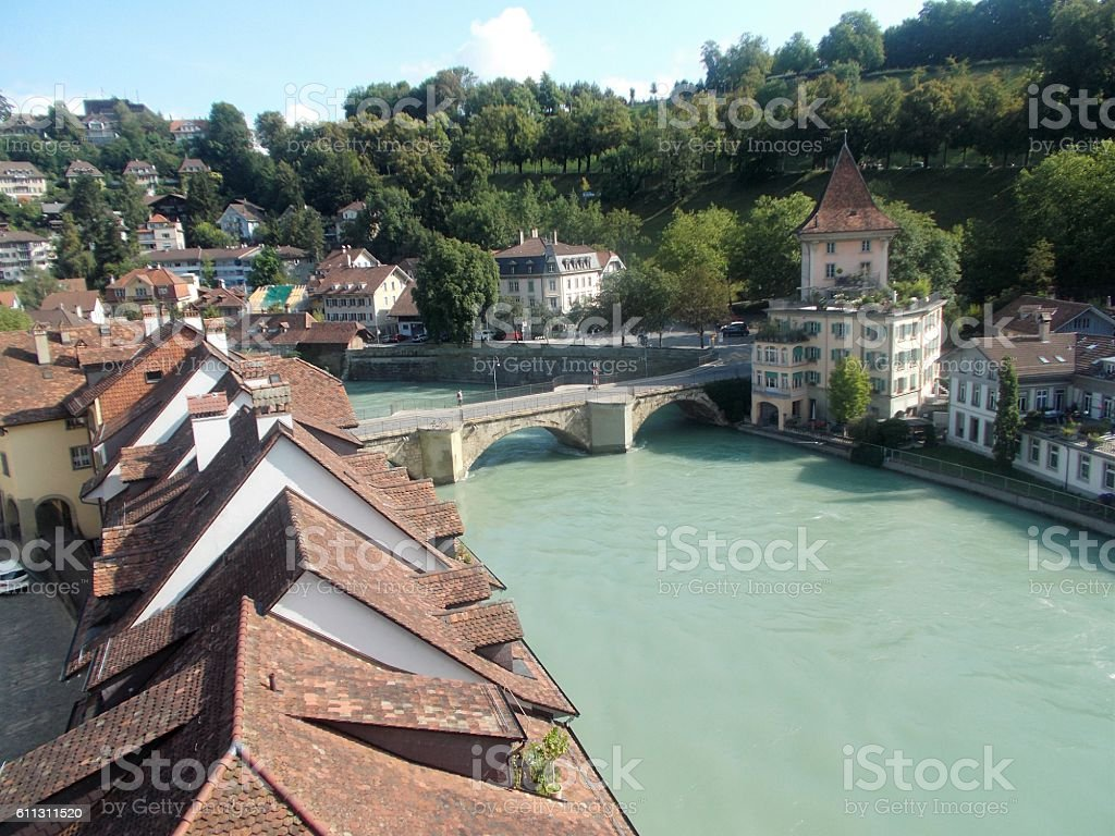 switzerland - berne, panorama stock photo