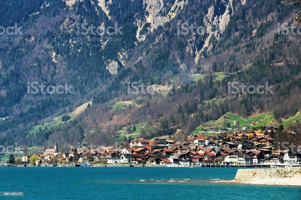 Switzerland - Brienz stock photo