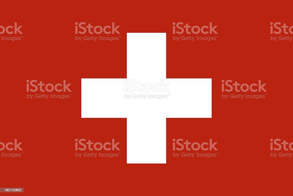 Switzerland Flag royalty-free stock photo