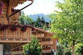 switzerland - gstaad, chalet