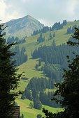 switzerland - gstaad, panorama