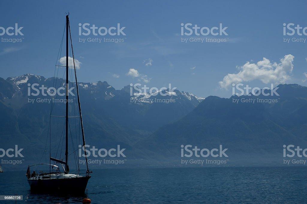 Switzerland Lake Geneva royalty-free stock photo