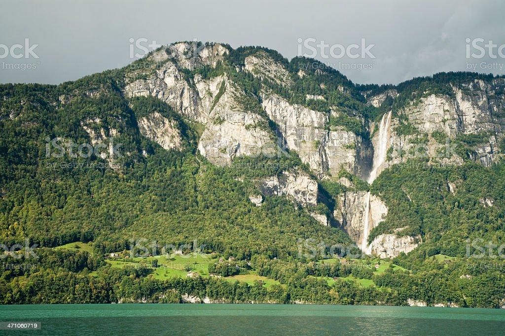 Switzerland Lake stock photo