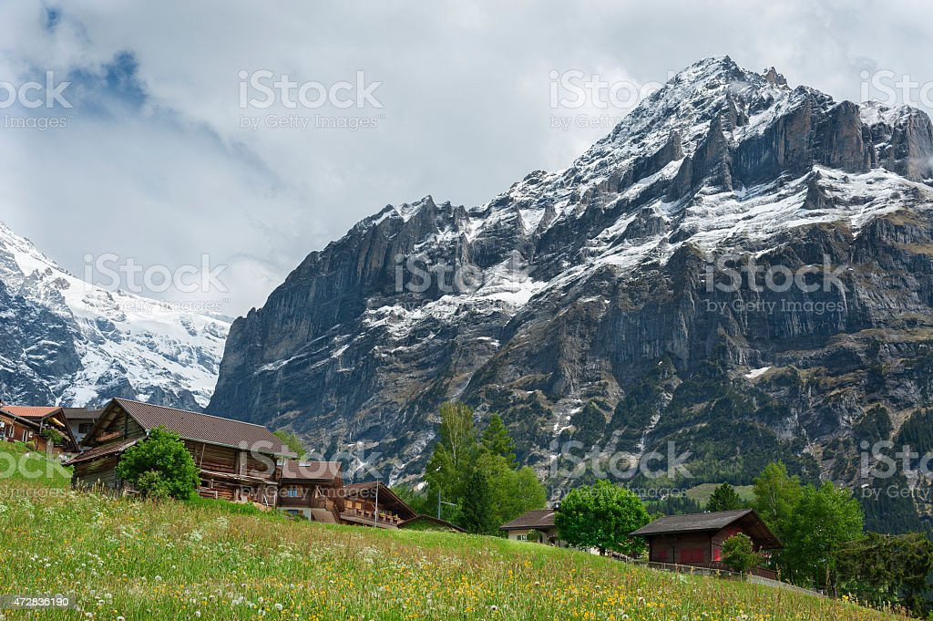 Switzerland Landscape stock photo