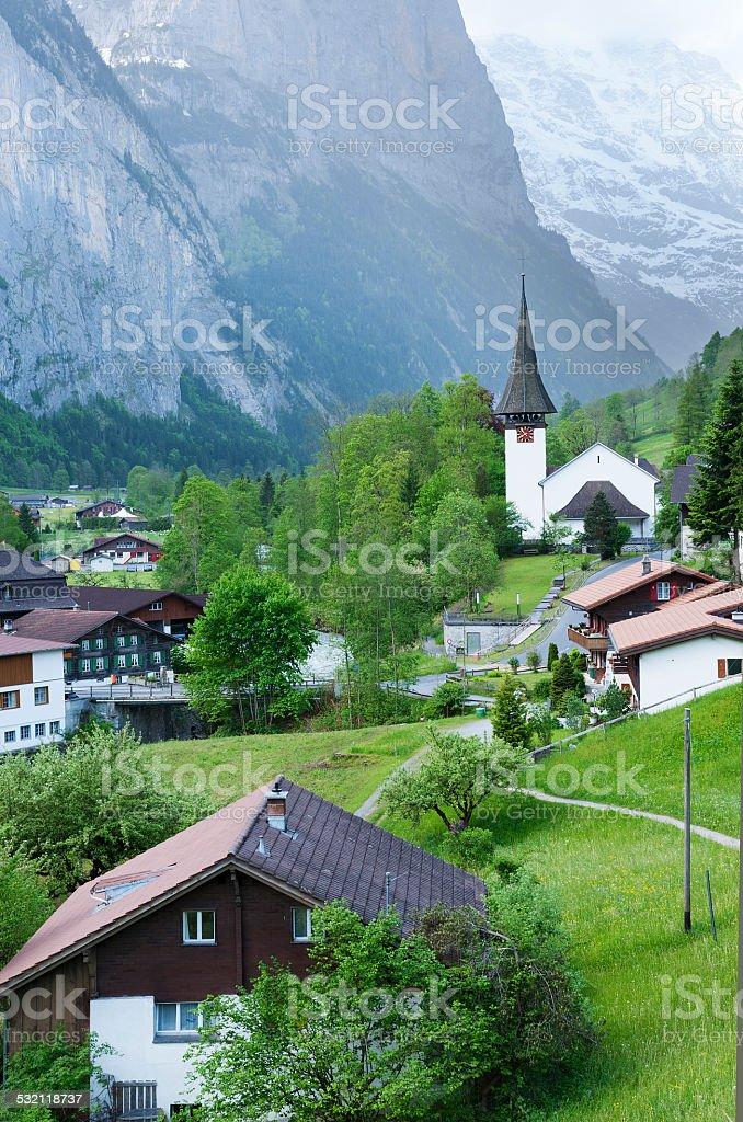 Switzerland Landscape stock photo
