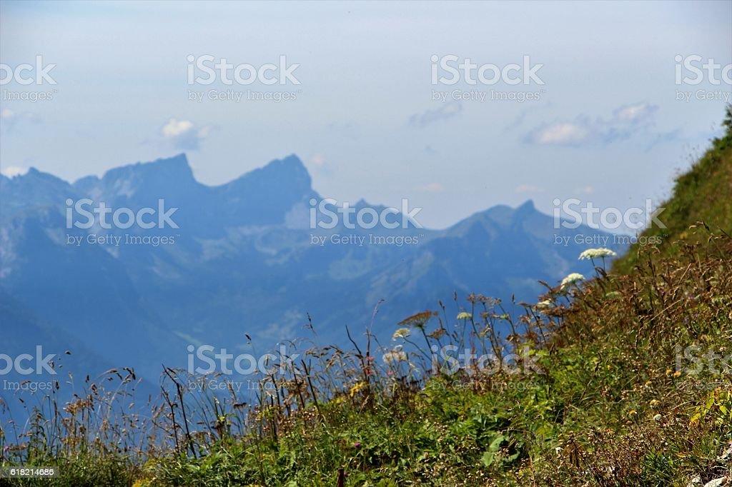 switzerland - paysage en vaud stock photo