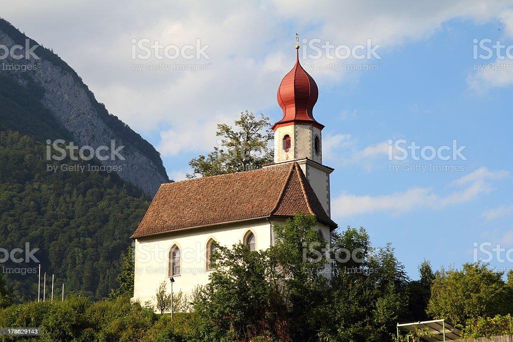 Switzerland - Sargans stock photo