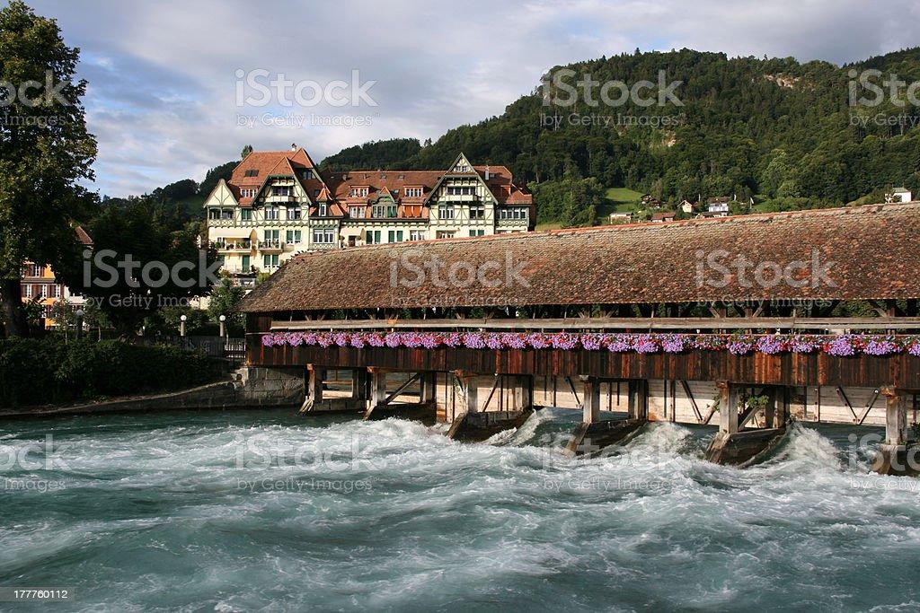 Switzerland - Thun royalty-free stock photo